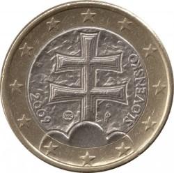 Монета > 1евро, 2009-2018 - Словакия  - obverse
