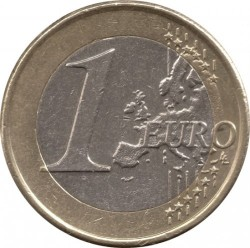 Монета > 1евро, 2009-2018 - Словакия  - reverse