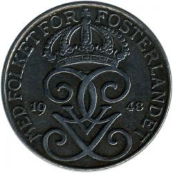 Munt > 5ore, 1942-1950 - Zweden  - obverse