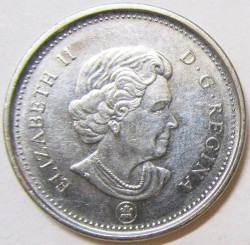 Coin > 5cents, 2003-2019 - Canada  - reverse
