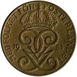 العملة > 2إيري, 1909-1950 - السويد  - obverse