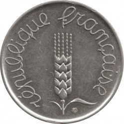 Coin > 5 centimes, 1961 - France  - obverse