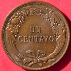 Moneta > 1centavo, 1919 - Perù  - reverse