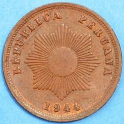 Монета > 2сентавос, 1918-1949 - Перу  - obverse