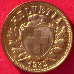 Moeda > 2rappen, 1850-1941 - Suíça  - obverse