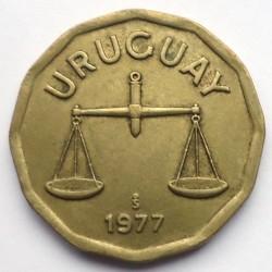Moneda > 50centésimos, 1976-1981 - Uruguay  - obverse