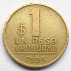 سکه > 1پزو, 1994 - اروگوئه  - reverse