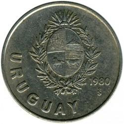 Moneda > 1nuevopeso, 1980 - Uruguay  - obverse