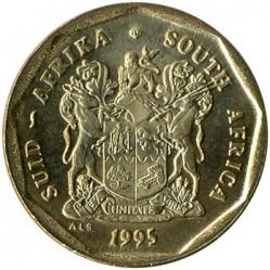 العملة > 50سنت, 1990-1995 - جنوب أفريقيا  - obverse