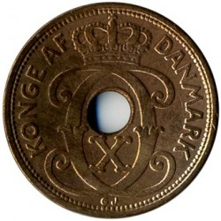 Moneta > 2ore, 1926-1940 - Dania  - reverse