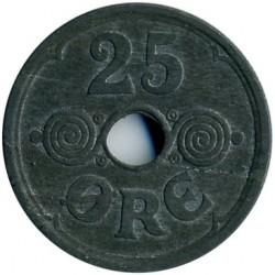מטבע > 25אירה, 1941-1945 - דנמרק  - reverse
