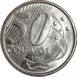 Moneta > 50centavos, 1998-2001 - Brazylia  - reverse