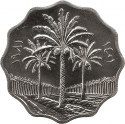 Монета > 10філсів, 1981 - Ірак  - obverse