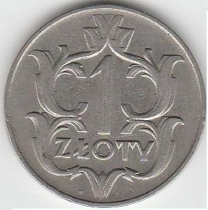 1 злотый 1929 описание 10 рублей тихвин цена