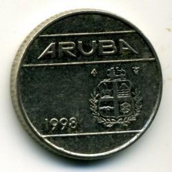 Moneta > 10centų, 1998 - Aruba  - obverse