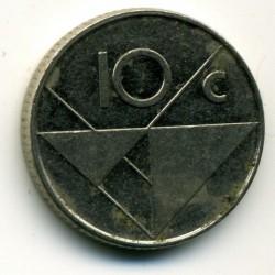 Moneta > 10centų, 1998 - Aruba  - reverse