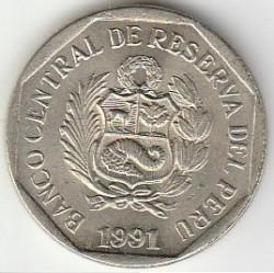 Moneta > 50centesimi, 1991-2000 - Perù  - reverse