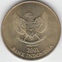 Pièce > 500roupies, 1997-2003 - Indonésie  - obverse
