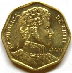 מטבע > 5פסו, 1992-2015 - צ'ילה  - obverse