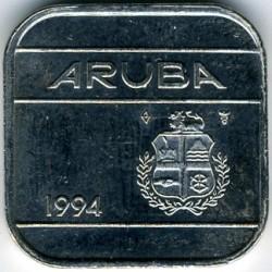 Moneta > 50centų, 1986-2018 - Aruba  - obverse