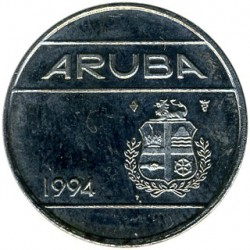 Monēta > 25centi, 1986-2018 - Aruba  - reverse