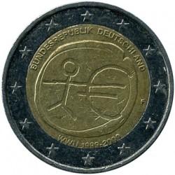 Moneta > 2euro, 2009 - Niemcy  (10 rocznica Unii Gospodarczej i Walutowej) - obverse