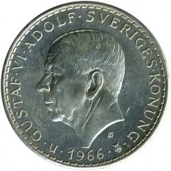 מטבע > 5כתר, 1966 - שוודיה  (100th Anniversary - Constitution Reform) - obverse