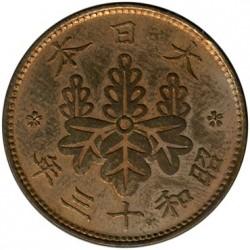 Coin > 1sen, 1927-1938 - Japan  - reverse