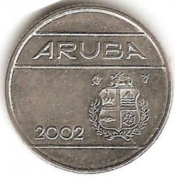 Moneta > 10centų, 2002 - Aruba  - obverse