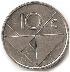 Moneta > 10centų, 2002 - Aruba  - reverse