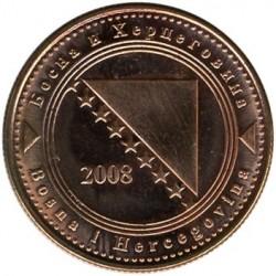 Монета > 20фенінгів, 1998-2017 - Боснія і Герцеговина  - obverse
