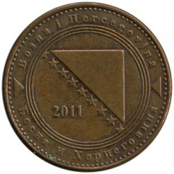 Монета > 10фенінгів, 1998-2017 - Боснія і Герцеговина  - reverse