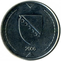 Coin > 1 marka, 2000-2017 - Bosnia and Herzegovina  - reverse