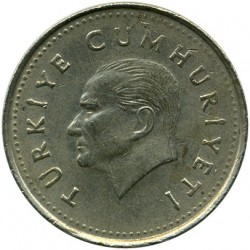 Монета > 1.000лир, 1990-1994 - Турция  - reverse
