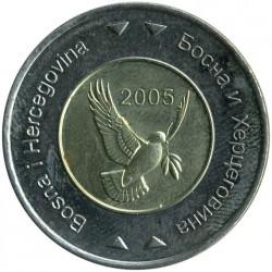 Munt > 5marka, 2005-2009 - Bosnië en Herzegovina  - obverse