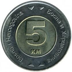 Munt > 5marka, 2005-2009 - Bosnië en Herzegovina  - reverse
