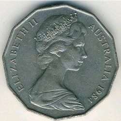 Moneta > 50centów, 1969-1984 - Australia  - reverse