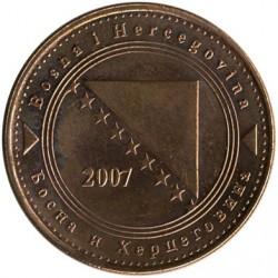 Монета > 50фенінгів, 1998-2017 - Боснія і Герцеговина  - obverse