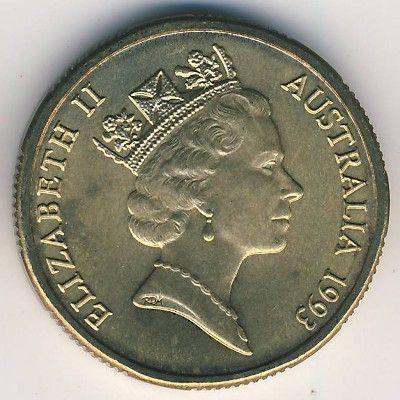 1 Dollar 1993 Landcare Australia Australien Münzen Wert Ucoinnet