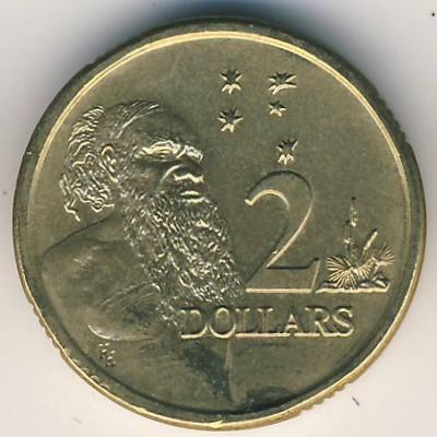 2 Dollar 1988 1998 Australien Münzen Wert Ucoinnet