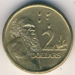Moneta > 2doleriai, 1988-1998 - Australija  - reverse