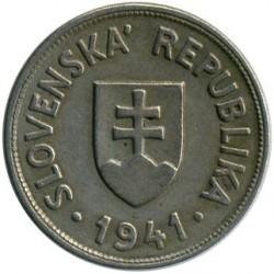 Minca > 50halierov, 1940-1941 - Slovensko  - obverse