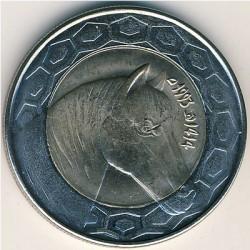 Moneda > 100dinars, 1993-2018 - Algèria  - reverse