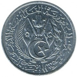 Moneta > 1santim, 1964 - Algieria  - reverse
