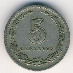 Moneda > 5centavos, 1923 - Argentina  - reverse