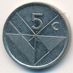Moneda > 5centavos, 2002 - Aruba  - obverse