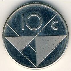 Moneta > 10centų, 1986 - Aruba  - reverse
