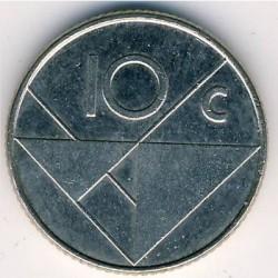 Moneta > 10centų, 1996 - Aruba  - obverse