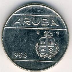 Moneta > 10centų, 1996 - Aruba  - reverse
