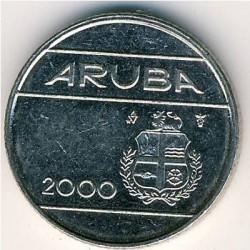 Moneda > 10centavos, 2000 - Aruba  - obverse